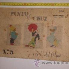 Coleccionismo de Revistas y Periódicos: PUNTO CRUZ. Lote 53580166