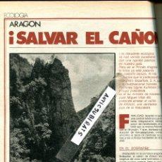Coleccionismo de Revistas y Periódicos: REVISTA 1978 CAÑON DE ANISCLO SOBRARBE FANLO PUERTOLAS XIRINACHS MARUJA TORRES ARACELI BANYULS . Lote 53582020