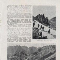 Collectionnisme de Revues et Journaux: EN LA SIERRA DE GREDOS / M. R. BLANCO-BELMONTE - 1920. Lote 53582707