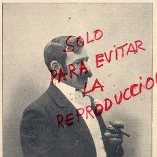 Coleccionismo de Revistas y Periódicos: MARIANO BENLLIURE 1898 ESCULTOR ILUSTRACION HOJA REVISTA. Lote 53587324