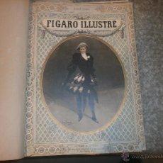 Coleccionismo de Revistas y Periódicos: LE FIGARO ILLUSTRE AÑO 1890 PERIODICO ENCUADERNADO ABRIL A NOVIEMBRE 42 X 31 CM. . Lote 53591137