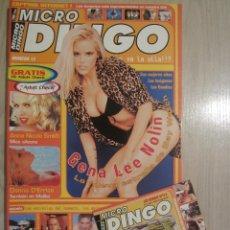 Coleccionismo de Revistas y Periódicos: REVISTA MICRO DINGO Nº 13 CON CD. Lote 53592003