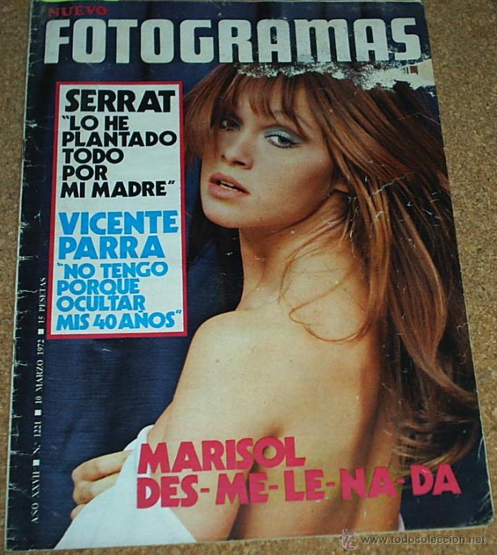 NUEVO FOTOGRAMAS 1221DE MARZO 1972-MARISOL-PORTADA, REPOR. 2 PG.3 FOTOS Y EL POSTER-TAMBIEN BEATLES (Coleccionismo - Revistas y Periódicos Modernos (a partir de 1.940) - Otros)