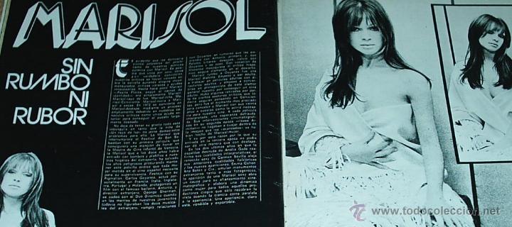 Coleccionismo de Revistas y Periódicos: NUEVO FOTOGRAMAS 1221DE MARZO 1972-MARISOL-PORTADA, REPOR. 2 PG.3 FOTOS Y EL POSTER-TAMBIEN BEATLES - Foto 2 - 53600059