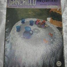 Coleccionismo de Revistas y Periódicos: REVISTA GANCHILLO ARTISTICO Nº 4 - TRICOT SELECCION. Lote 53633760
