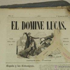 Colecionismo de Revistas e Jornais: EL DOMINE LUCAS. LOTE. DEL Nº2 (1 DE MAYO DE 1844), AL Nº24 (1 DE MARZO DEL 1946). Lote 53673223