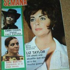Coleccionismo de Revistas y Periódicos: SEMANA Nº 1642 -8.1971-MARISOL EN UN RALLYE 1/2PG Y 2 FOTOS- LEER ENVIOS. Lote 53678552