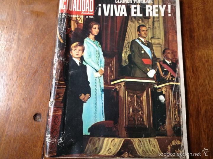 ACTUALIDAD ESPAÑOLA DIC 1975 N 248 (Coleccionismo - Revistas y Periódicos Modernos (a partir de 1.940) - Otros)