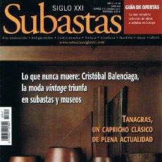 Coleccionismo de Revistas y Periódicos: REVISTA SUBASTAS SIGLO XXI Nº 117 JUNIO 2010. Lote 53707480