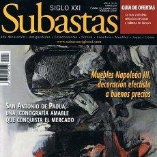 Coleccionismo de Revistas y Periódicos: REVISTA SUBASTAS SIGLO XXI Nº 157 FEBRERO 2014 . Lote 53708757