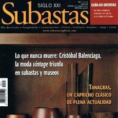Coleccionismo de Revistas y Periódicos: REVISTA SUBASTAS SIGLO XXI Nº 117 JUNIO 2010. Lote 53710340