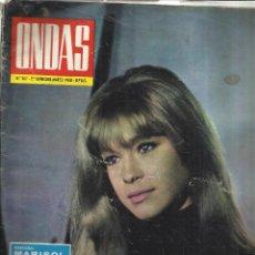 Coleccionismo de Revistas y Periódicos: REVISTA ONDAS. MARZO. 1968. Nº 367. MARISOL. BEN ALI. AUTE. ELISA RAMÍREZ. DÚO DINÁMICO. Lote 53718876