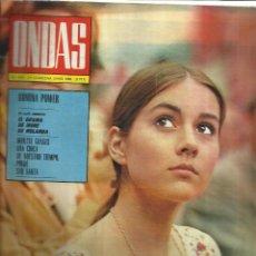 Coleccionismo de Revistas y Periódicos: REVISTA ONDAS. JUNIO. 1968. Nº 373. ROMINA POWER. IRENE DE HOLANDA. MONTSE GRASES. RICHARD BURTON. Lote 53718913