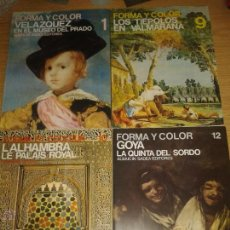 Coleccionismo de Revistas y Periódicos: REVISTA FORMA Y COLOR. 19 REVISTAS.. Lote 53747971
