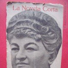Coleccionismo de Revistas y Periódicos: EMILIA PARDO BAZAN.-LA AVENTURA DE ISIDRO.-LA NOVELA CORTA.-NOVELA.-AÑO 1916.. Lote 53773491