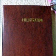 Coleccionismo de Revistas y Periódicos: L'ILLUSTRATION 6 REVISTAS ENCUADERNADAS. Lote 53835532