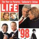 Coleccionismo de Revistas y Periódicos: LIFE. REVISTA. THE YEAR IN PICTURES 1998. NÚMERO ESPECIAL RESUMEN 1998. Lote 53836161