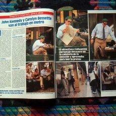 Coleccionismo de Revistas y Periódicos: SEMANA / GILLIAN ANDERSON, JOHN JOHN KENNEDY, LAS GRECAS, NATALIA ESTRADA, DAVID HASSELHOFF. Lote 53871451