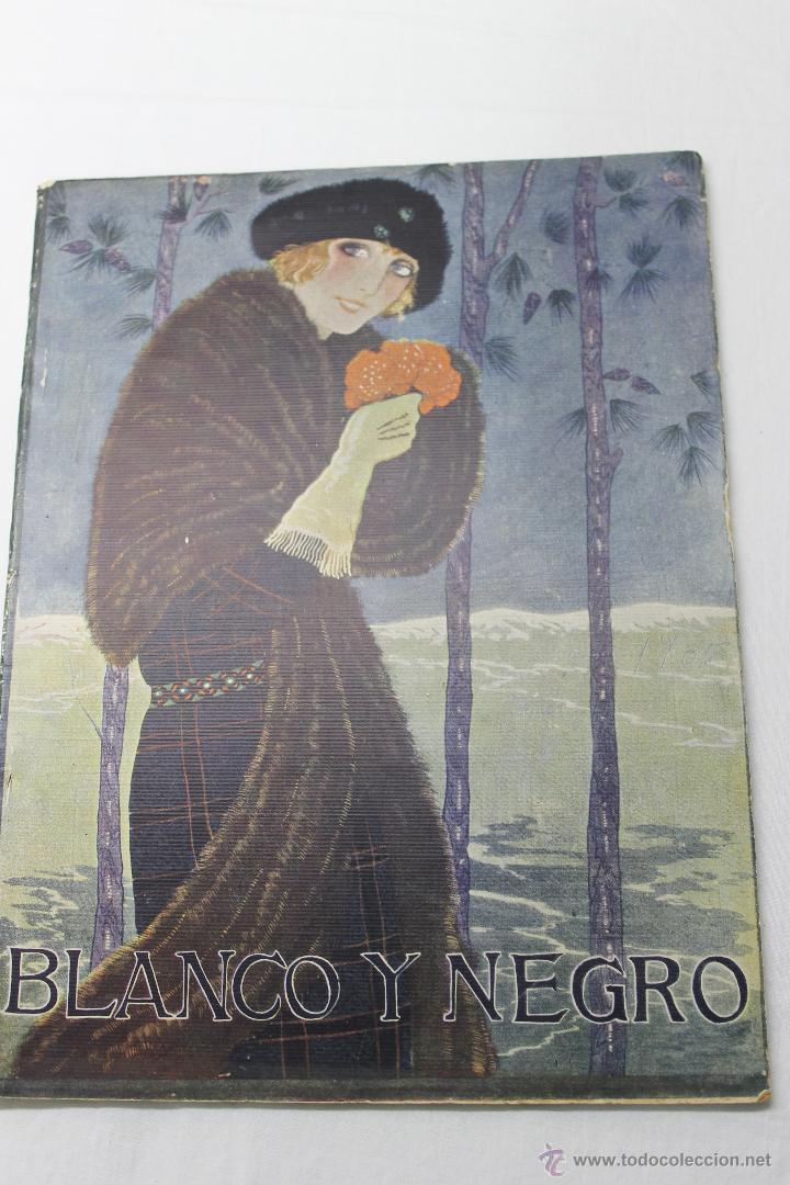 REVISTA ILUSTRADA BLANCO Y NEGRO Nº 1705 AÑO 1924, (Coleccionismo - Revistas y Periódicos Antiguos (hasta 1.939))