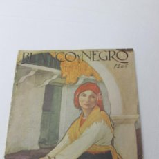 Coleccionismo de Revistas y Periódicos: REVISTA ILUSTRADA BLANCO Y NEGRO Nº 1506 AÑO 1920, MUJER GALLEGA POR C. SOBRINO. Lote 53872551