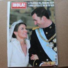 Coleccionismo de Revistas y Periódicos: HOLA BODA REAL 2004 . Lote 53884467