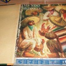 Coleccionismo de Revistas y Periódicos: MUNDO HISPANICO-TOMO CON 10 REVISTAS AÑOS 1948/1949/1950. Lote 53895961