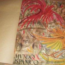 Coleccionismo de Revistas y Periódicos: MUNDO HISPANICO-TOMO CON 9 REVISTAS AÑOS 1950/1951/1952/1953/1955. Lote 53896072