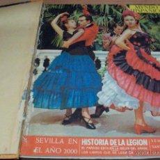 Coleccionismo de Revistas y Periódicos: MUNDO HISPANICO-TOMO CON 10 REVISTAS AÑOS 1954/1955. Lote 53896151