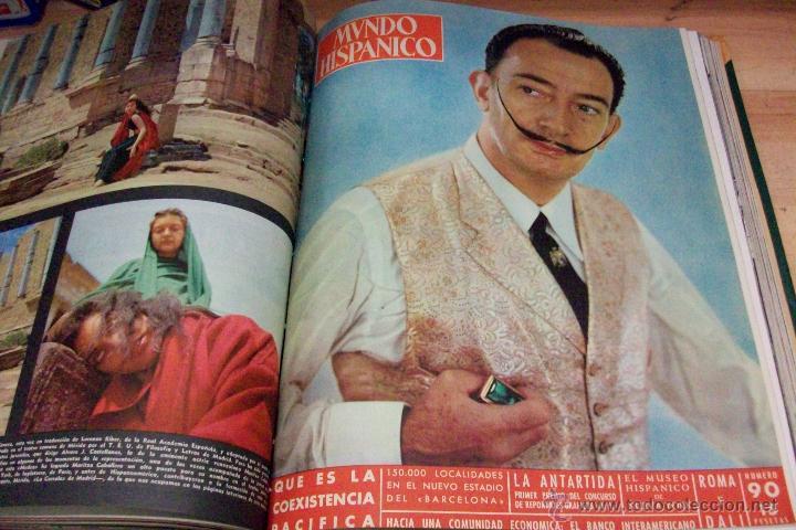 Coleccionismo de Revistas y Periódicos: MUNDO HISPANICO-TOMO CON 10 REVISTAS AÑOS 1954/1955 - Foto 6 - 53896151