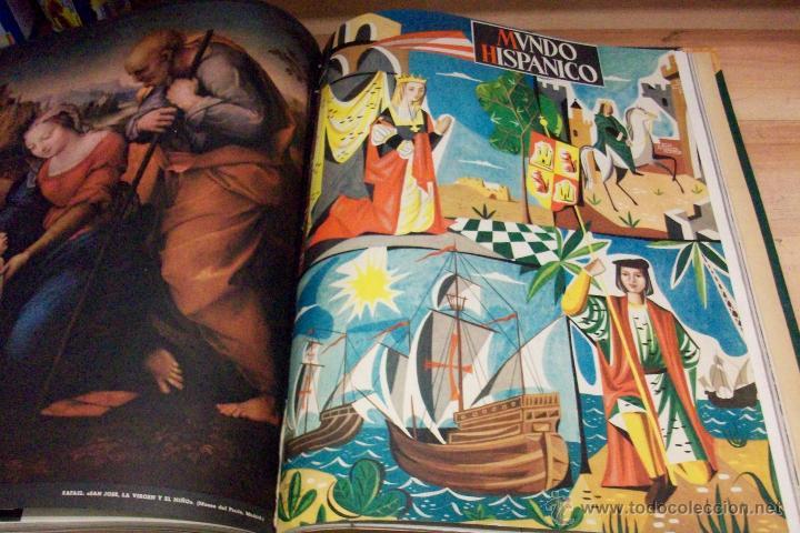 Coleccionismo de Revistas y Periódicos: MUNDO HISPANICO-TOMO CON 10 REVISTAS AÑOS 1954/1955 - Foto 9 - 53896151