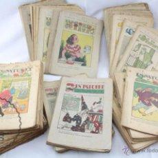 Coleccionismo de Revistas y Periódicos: CONJUNTO DE 190 ANTIGUAS PUBLICACIONES INFANTILES EN CATALÁN - EN PATUFET - AÑOS 20-30. Lote 53950126