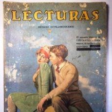 Collectionnisme de Revues et Journaux: LECTURAS NUMERO EXTRAORDINARIO. OCTUBRE 1929. Lote 53989573