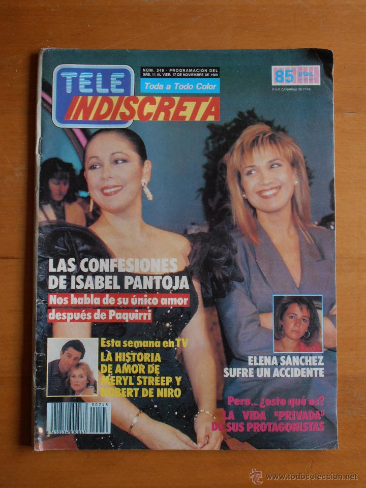 REVISTA TELEINDISCRETA Nº 248 NOVIEMBRE 1989 EL PRECIO JUSTO TELE-INDISCRETA (Coleccionismo - Revistas y Periódicos Modernos (a partir de 1.940) - Otros)