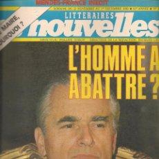 Coleccionismo de Revistas y Periódicos: LES NOUVELLES. Nº 2863. 1ª DCBRE. 1982. EDICIÓN FRANCESA. (P/B3). Lote 54014366
