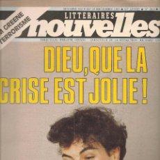 Coleccionismo de Revistas y Periódicos: LES NOUVELLES. Nº 2865. 15 DCBRE. 1982. EDICIÓN FRANCESA. (P/B3). Lote 54014435