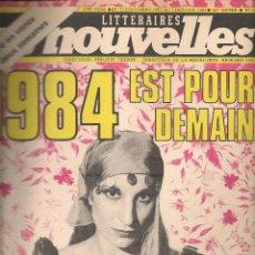 Coleccionismo de Revistas y Periódicos: LES NOUVELLES. Nº 2867. 5 JANVIER 1983. EDICIÓN FRANCESA. (P/B3). Lote 54014517