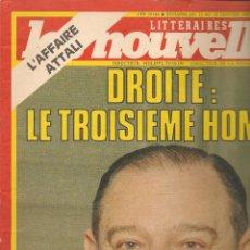 Coleccionismo de Revistas y Periódicos: LES NOUVELLES. Nº 2869. 19 JANVIER 1983. EDICIÓN FRANCESA. (P/B3). Lote 54014671