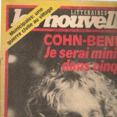 Coleccionismo de Revistas y Periódicos: LES NOUVELLES. Nº 2876. 9 MARS 1983. EDICIÓN FRANCESA. (P/B3). Lote 54014866