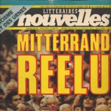 Coleccionismo de Revistas y Periódicos: LES NOUVELLES. Nº 2878. 23 MARS 1983. EDICIÓN FRANCESA. (P/B3). Lote 54014988
