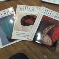 Coleccionismo de Revistas y Periódicos: LOTE 3 REVISTAS ARTEGUIA **MIRA FOTOS **. Lote 54023324