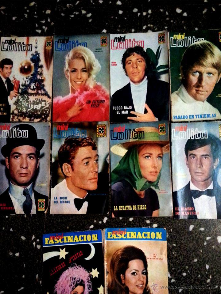 8 REVISTAS FOTONOVELA - MINI LOLITA - AÑO1968. (Coleccionismo - Revistas y Periódicos Modernos (a partir de 1.940) - Otros)