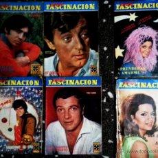 Coleccionismo de Revistas y Periódicos: LOTE DE 6 REVISTAS FOTONOVELA - MINI FASCINACION - AÑOS 1967-68. Lote 54038500