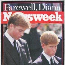 Coleccionismo de Revistas y Periódicos: REVISTA ''NEWSWEEK'' - ''FAREWELL, DIANA'' - MUERTE DE LADY DI (1997). Lote 54068344