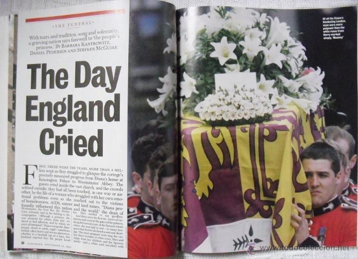 Coleccionismo de Revistas y Periódicos: Revista Newsweek - Farewell, Diana - Muerte de Lady Di (1997) - Foto 5 - 54068344