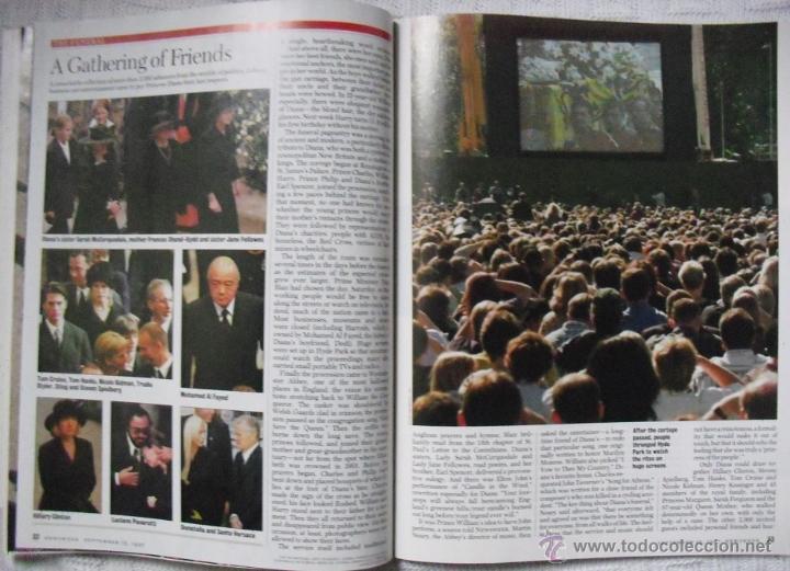 Coleccionismo de Revistas y Periódicos: Revista Newsweek - Farewell, Diana - Muerte de Lady Di (1997) - Foto 6 - 54068344