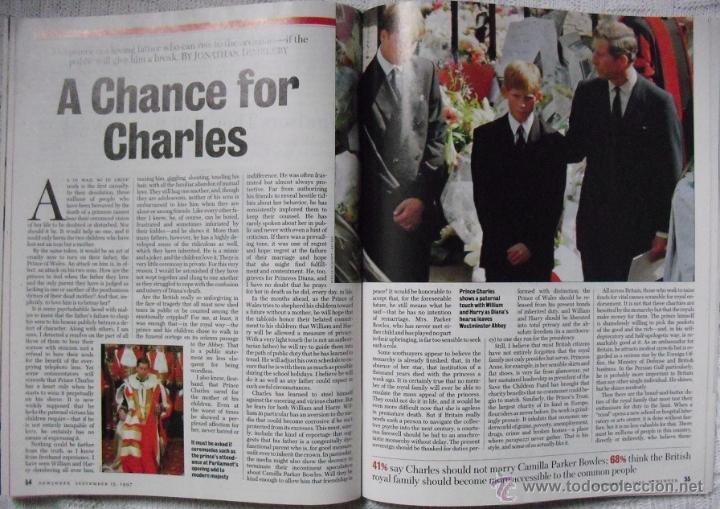 Coleccionismo de Revistas y Periódicos: Revista Newsweek - Farewell, Diana - Muerte de Lady Di (1997) - Foto 7 - 54068344