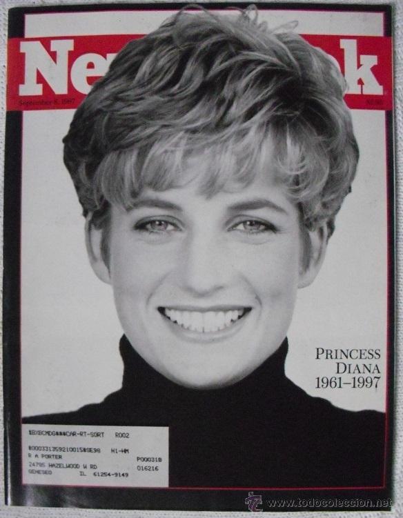 REVISTA ''NEWSWEEK'' - LADY DI - MUERTE DE DIANA, PRINCESA DE GALES (1997) (Coleccionismo - Revistas y Periódicos Modernos (a partir de 1.940) - Otros)