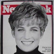Coleccionismo de Revistas y Periódicos: REVISTA ''NEWSWEEK'' - LADY DI - MUERTE DE DIANA, PRINCESA DE GALES (1997). Lote 54068348