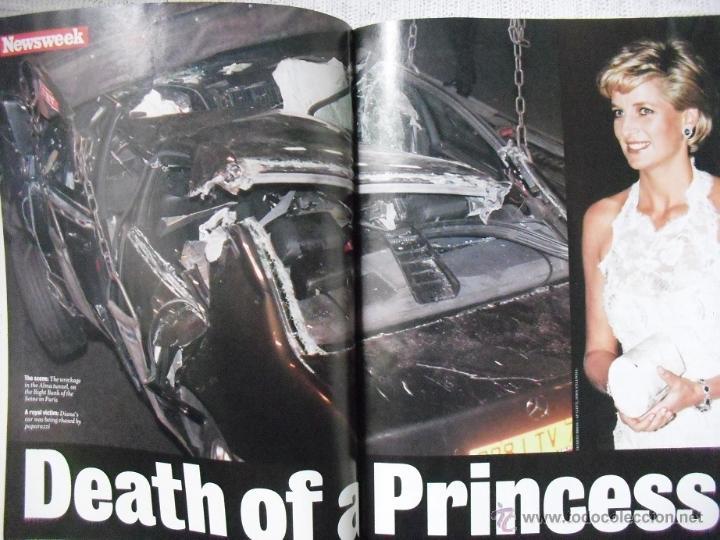 Coleccionismo de Revistas y Periódicos: Revista Newsweek - Lady Di - Muerte de Diana, Princesa de Gales (1997) - Foto 3 - 54068348