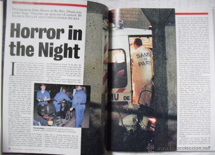 Coleccionismo de Revistas y Periódicos: Revista Newsweek - Lady Di - Muerte de Diana, Princesa de Gales (1997) - Foto 4 - 54068348